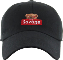 Load image into Gallery viewer, Savage Bear Dad Hat