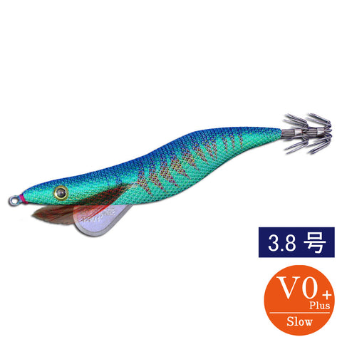 egisharp 3.8V0+ (18g) green aji base blue
