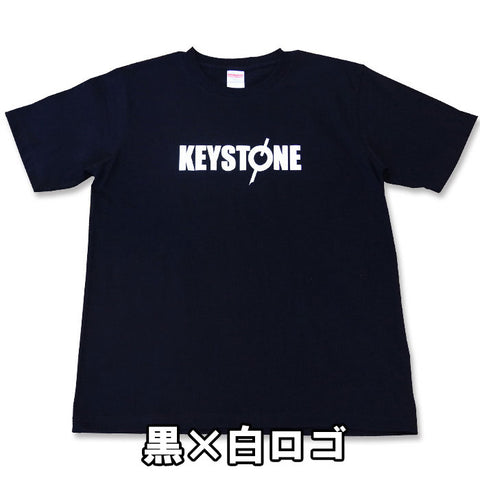 keystone logo T-shirt black/white logo