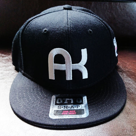 a.k.a samurai action AK cap black