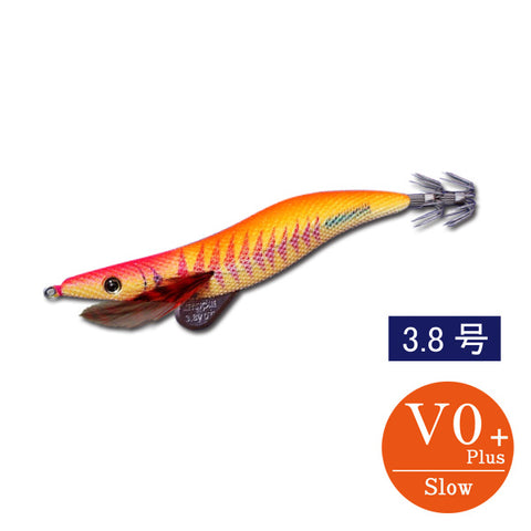 egi sharp 3.8V0+ (18g) DS original color yellow aji orange