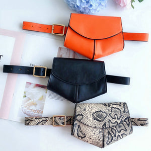 Mini Leather Belt Bag
