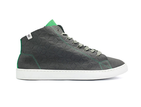 FRANKLIN HT: Grey Emerald Embossed