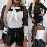 Jenery lace-up shirt