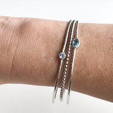 Load image into Gallery viewer, Birthstone Bangle