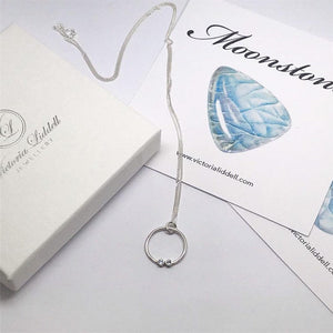 Eternity Birthstone Pendant