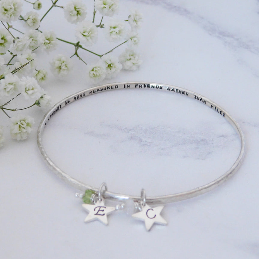 Personalised Quote Bangle