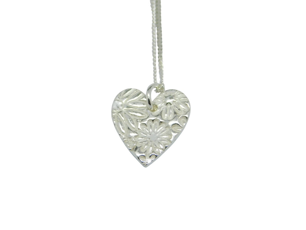 Flora Heart Necklace