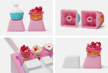 Load image into Gallery viewer, 3 Set Kawaii Sweet Keycaps