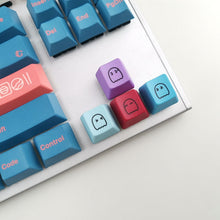 Load image into Gallery viewer, 5 Set Pacman Pastel Keycaps