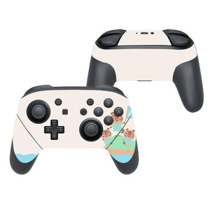Animal Crossing Pro Controller Vinyl Cover