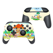 Load image into Gallery viewer, Animal Crossing Pro Controller Vinyl Cover