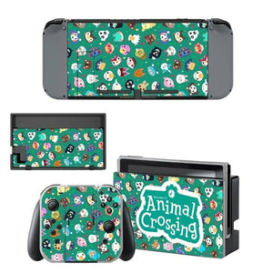 Animal Crossing Switch Vinyl Cover