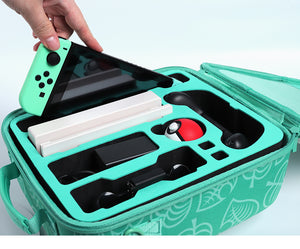Animal Crossing Heavy-Duty Switch&Accessories Carry Case