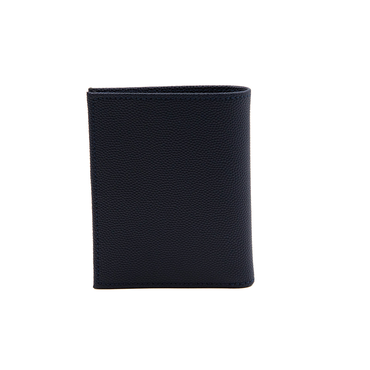 MINERVA EMBOSSED LEATHER NAVY F BY FARADA WALLET (MWITF111)