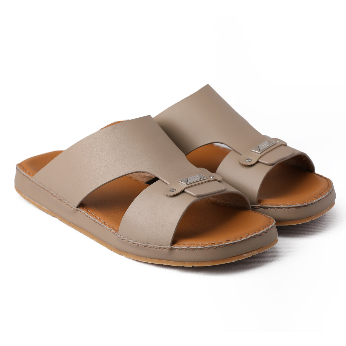 NOVO CALF VIZON FLAT SOLE ARABIC SANDAL (9405-11)
