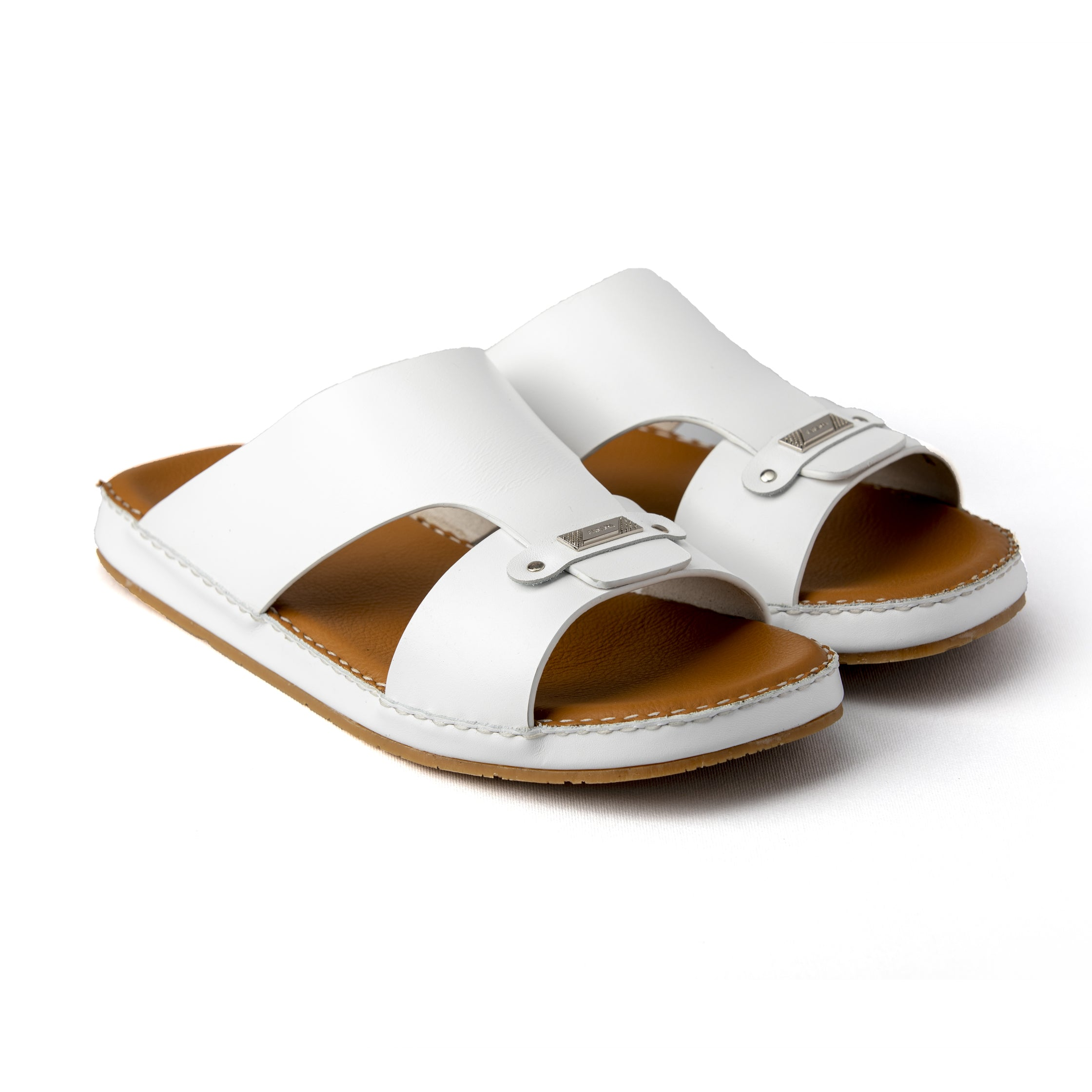 White Flat Sole Novo Calf (9405-11)