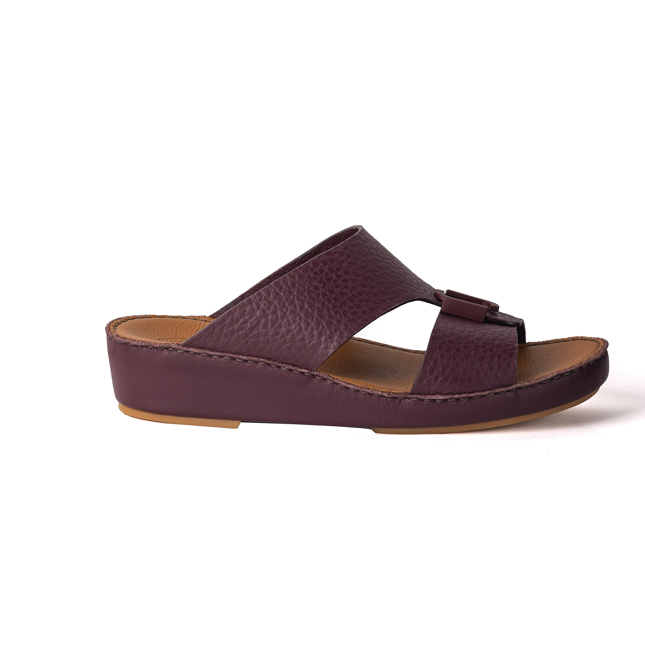 Bordo Unlined Hammered Milled (317-80) Arabic Sandal