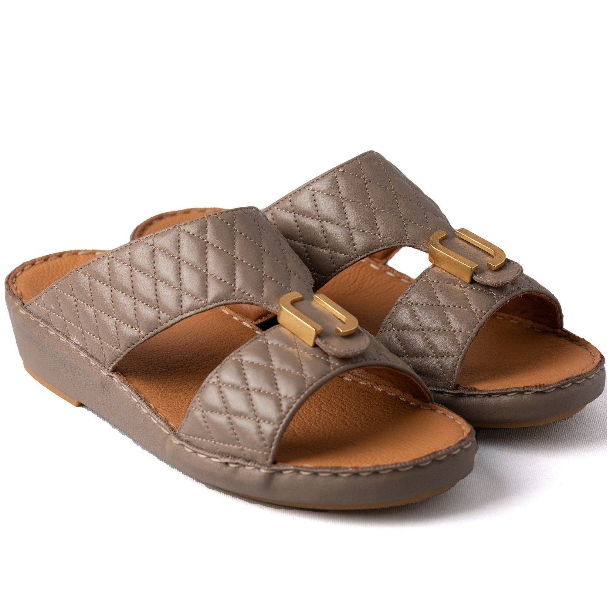EARTH DIAMOND STITCHED ARABIC SANDAL (317-66)
