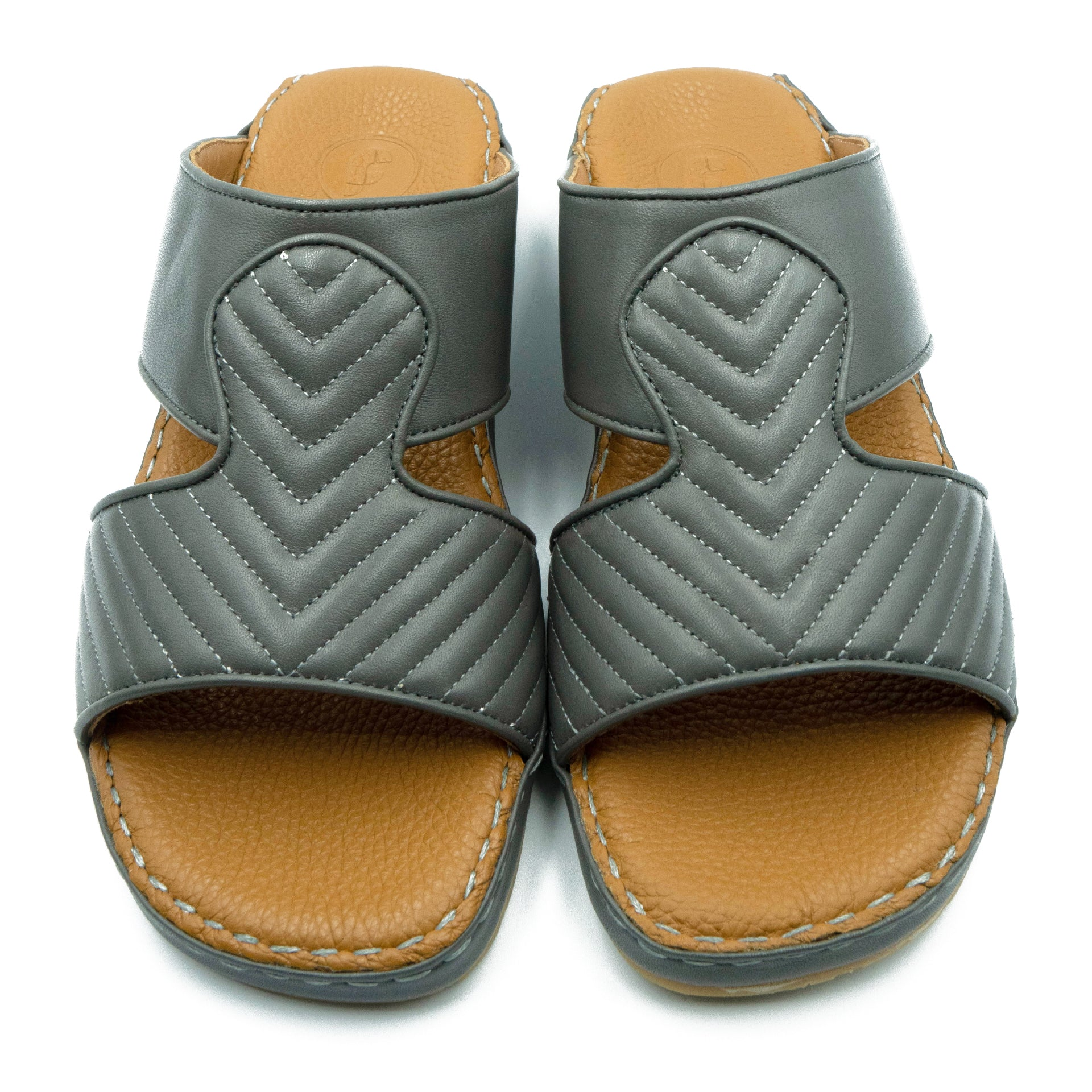 Grey, Crown, Parallel, Arabic, Sandal, Ramadan, Collection, Arabic, Sandals,  Accessories