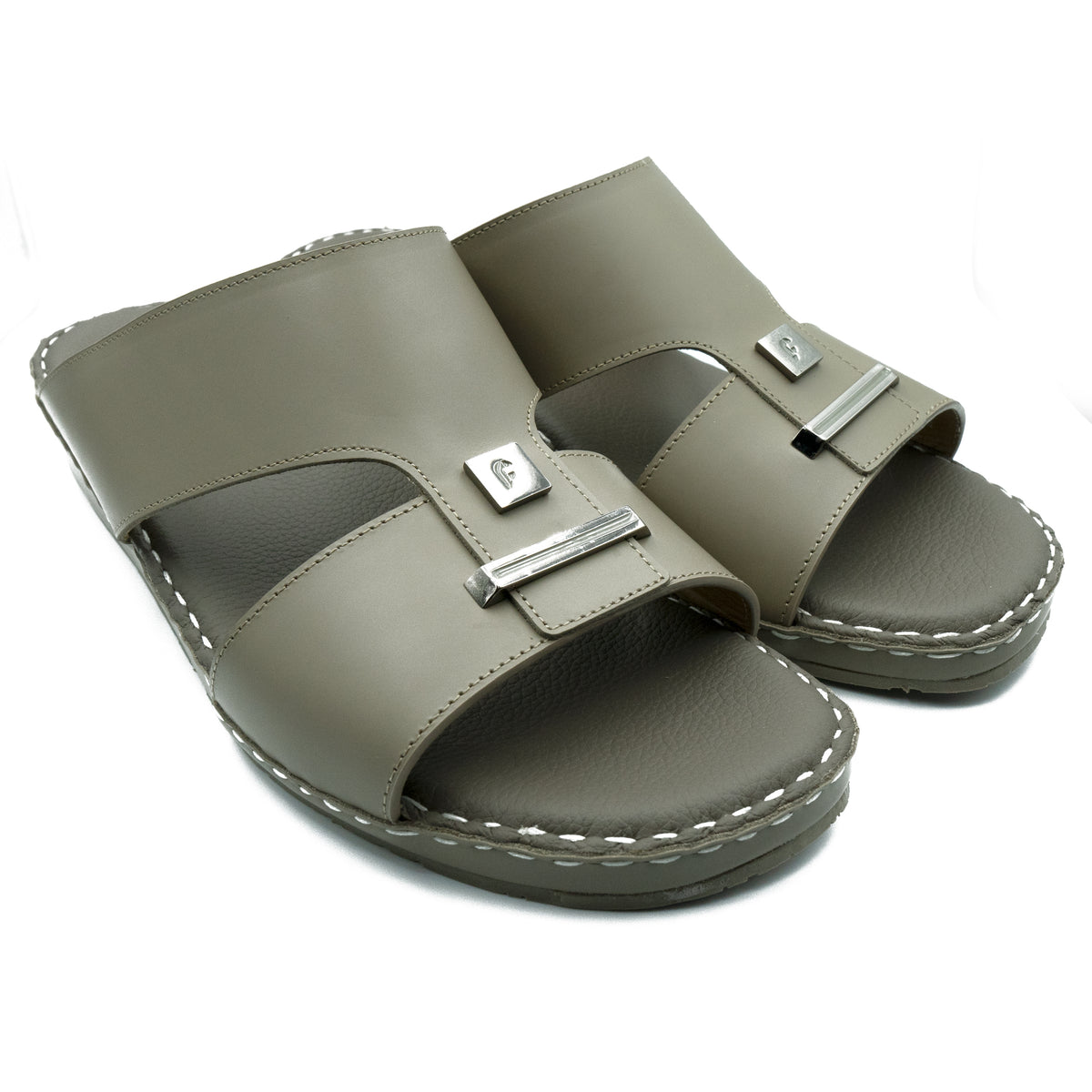 Earth, 2-Plate, Oxford, Soft, Matte, Arabic, Flat, Sandals, Ramadan Collection, Arabic, Sandals, Accessories