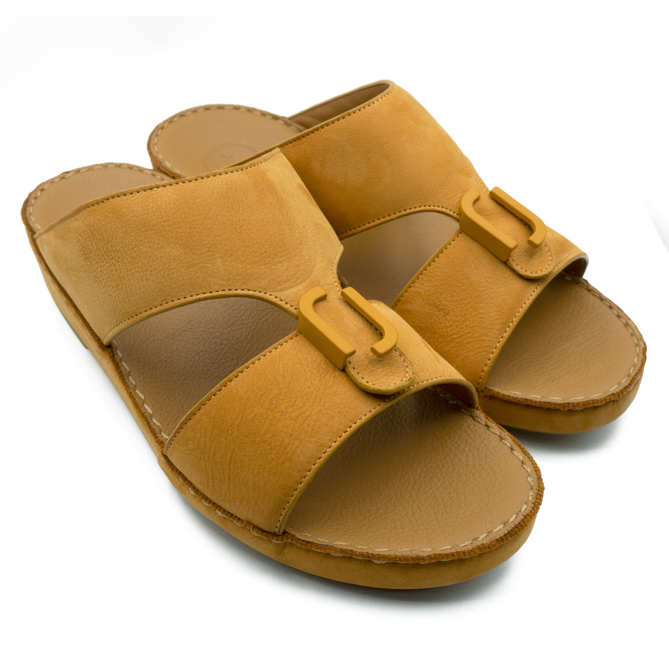 Tan, Suede, Classic, Flat, Sandals, Ramadan Collection, Arabic, Sandals, Accessories