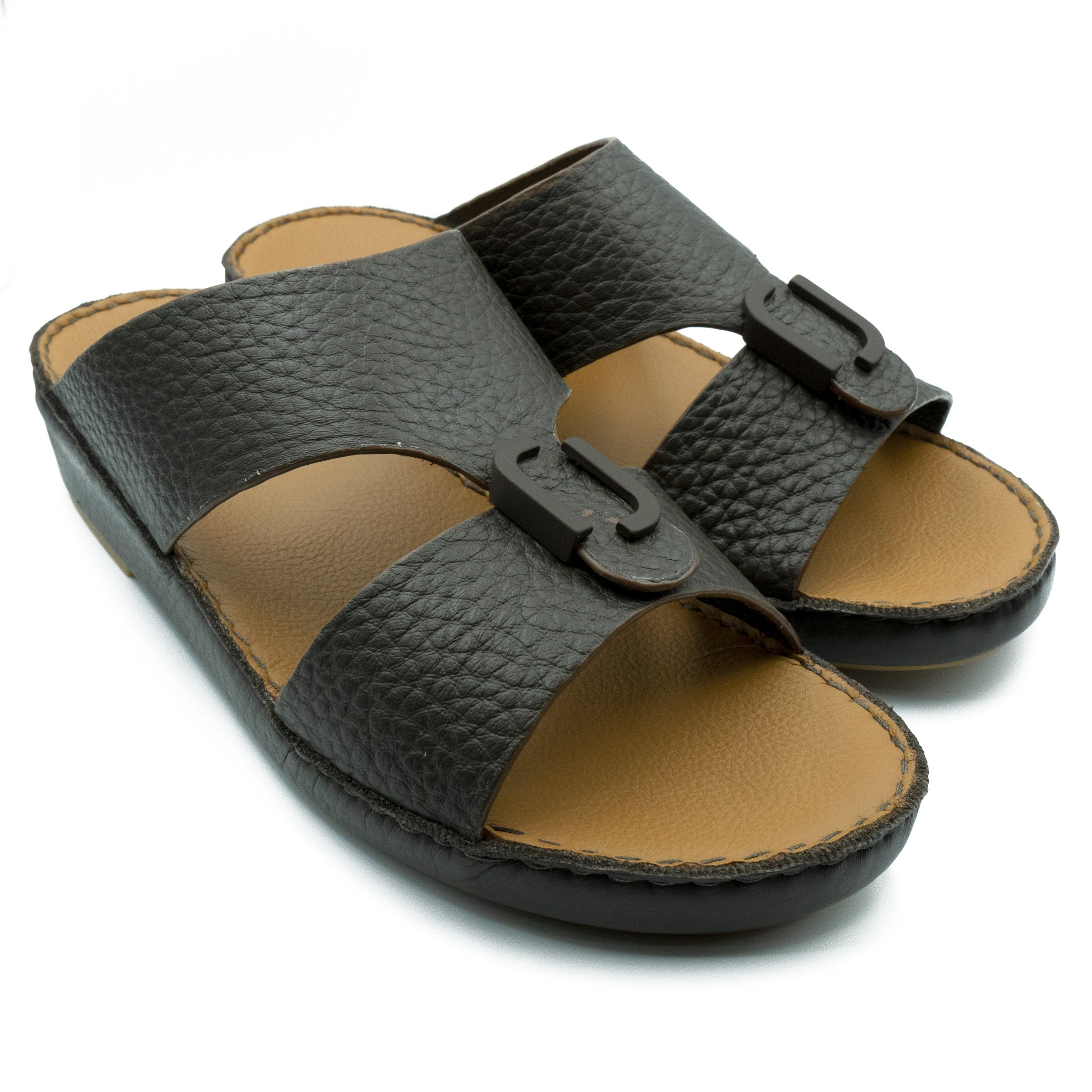 Cafe Unlined Hammered Milled (317-80) Arabic Sandal