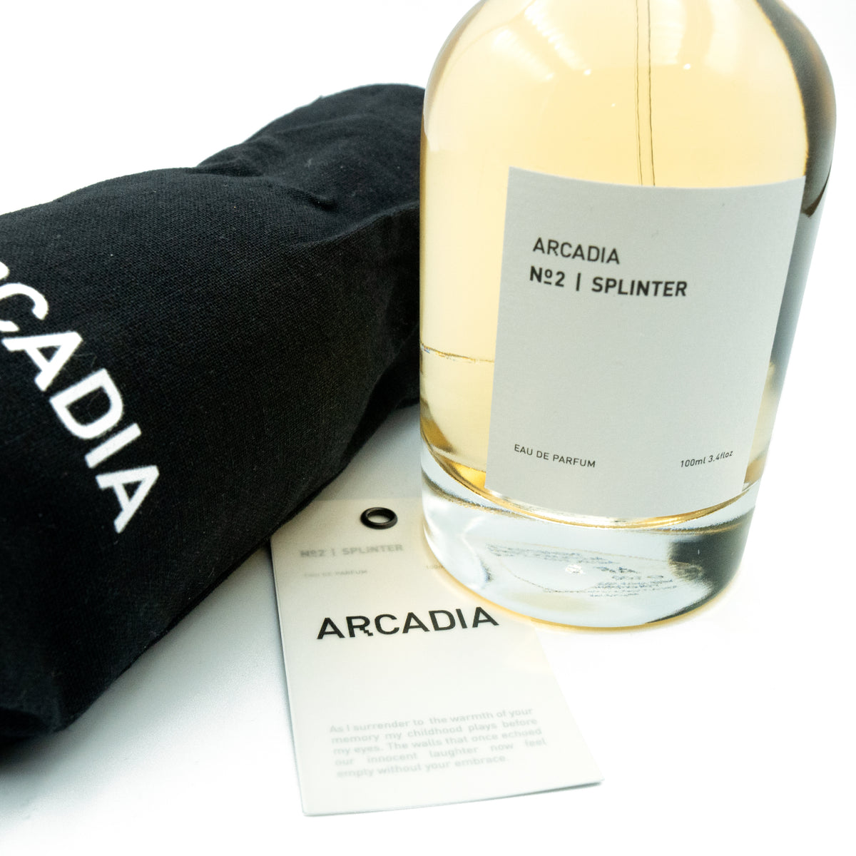 ARCADIA PERFUME EDITION 1 - NO 2 | SPLINTER