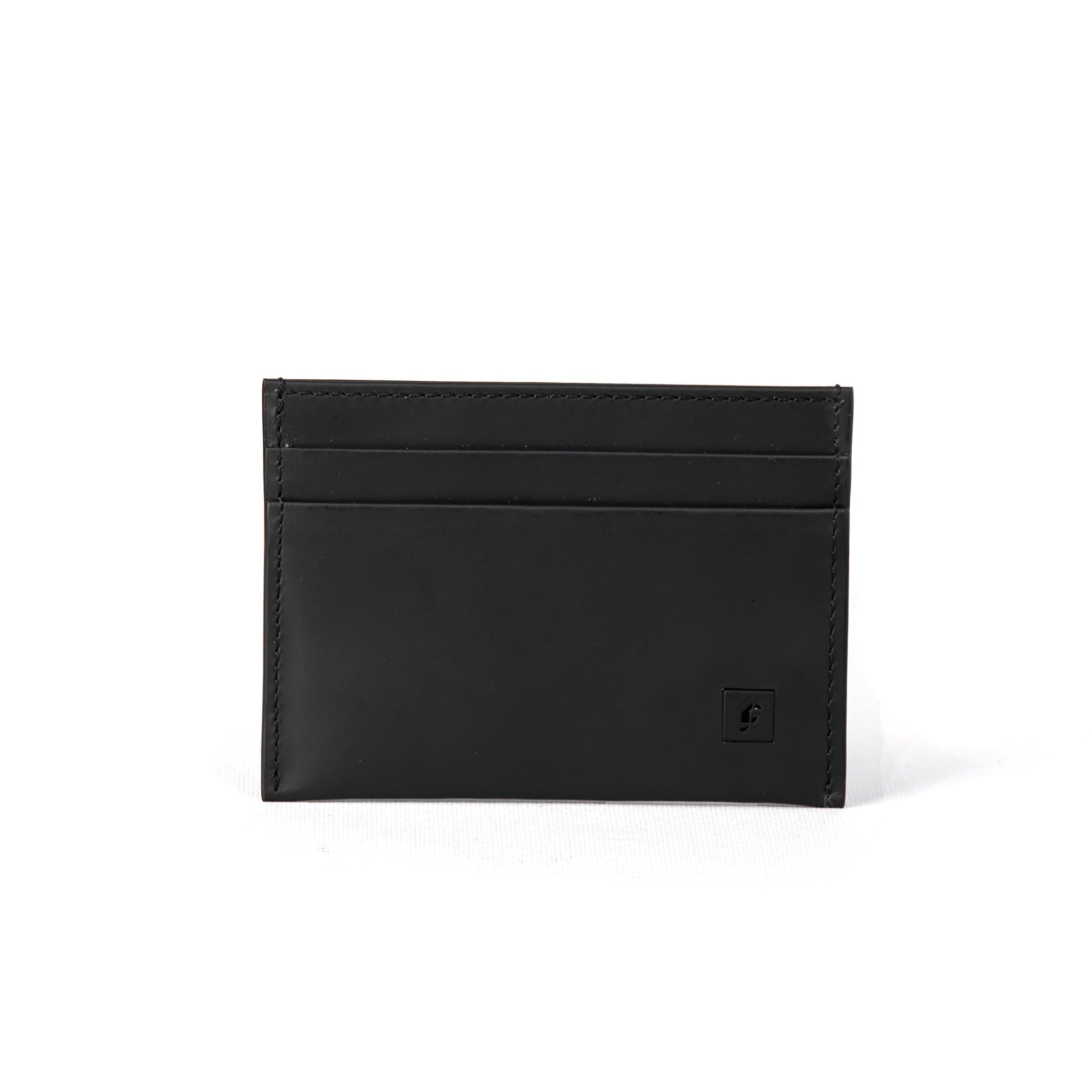 Black Oxford Soft Matte Credit Card Holder  (FP103)