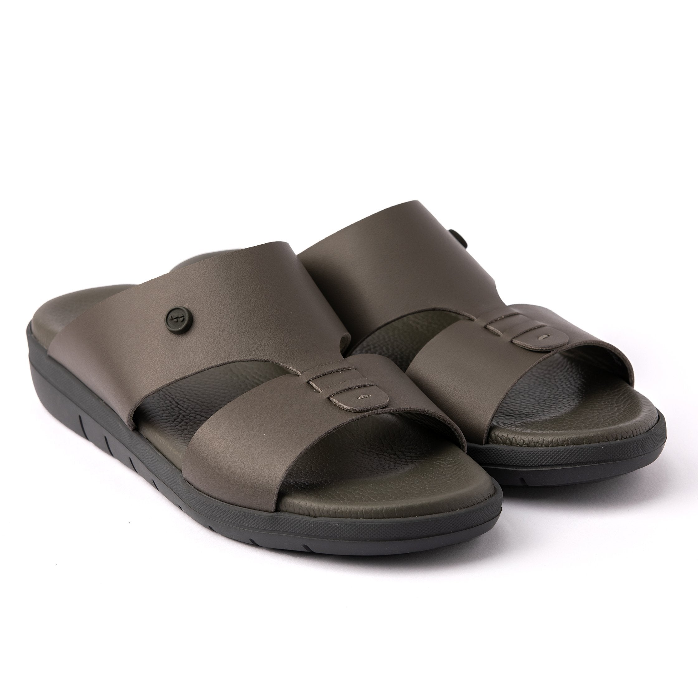 Brown Nappa Hovercraft (902) Arabic Sandals