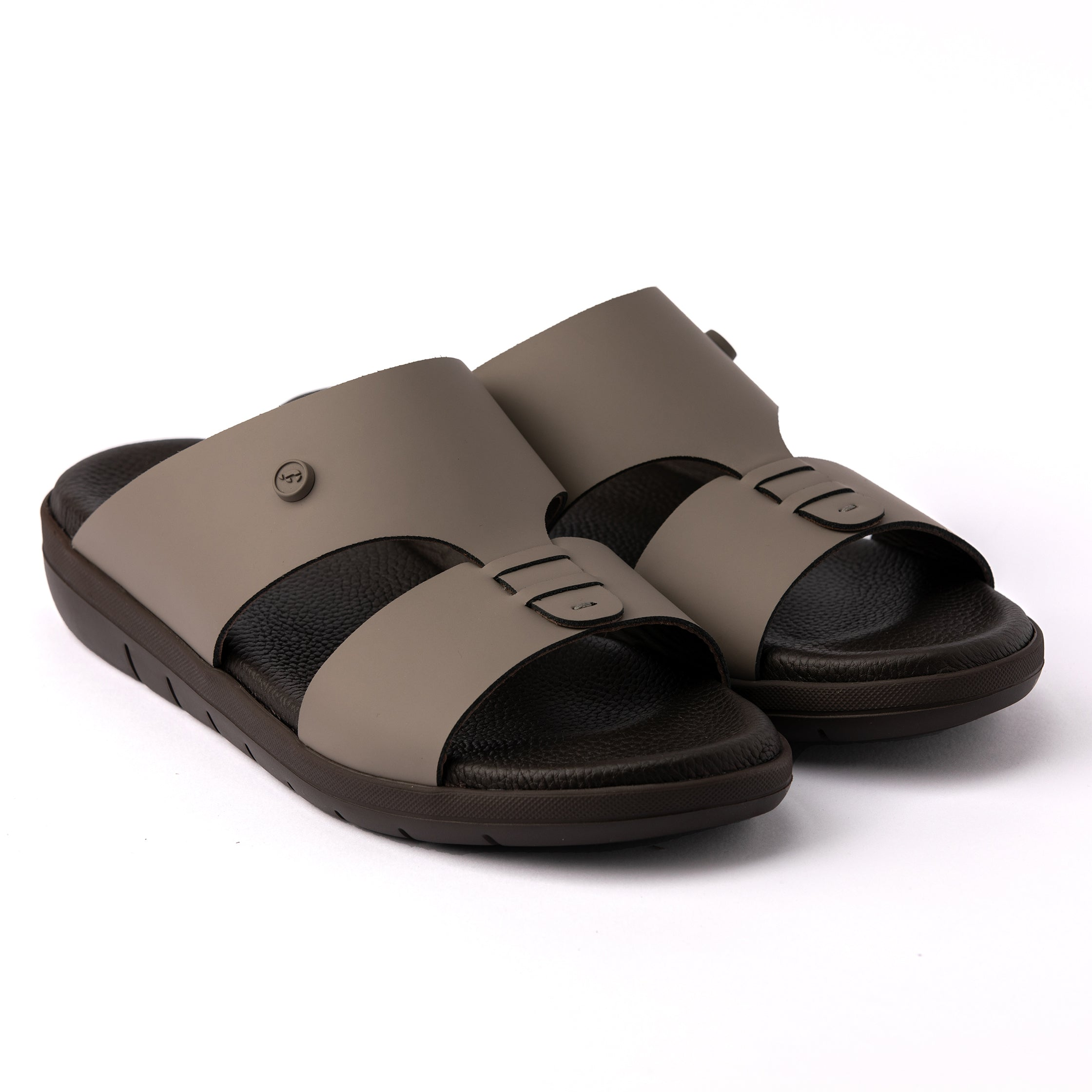 Grey Nappa Hovercraft (902) Arabic Sandals