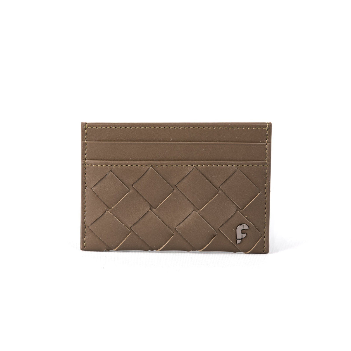 TRUFFLE WEAVING MATTE CREDIT CARD HOLDER (FP105)