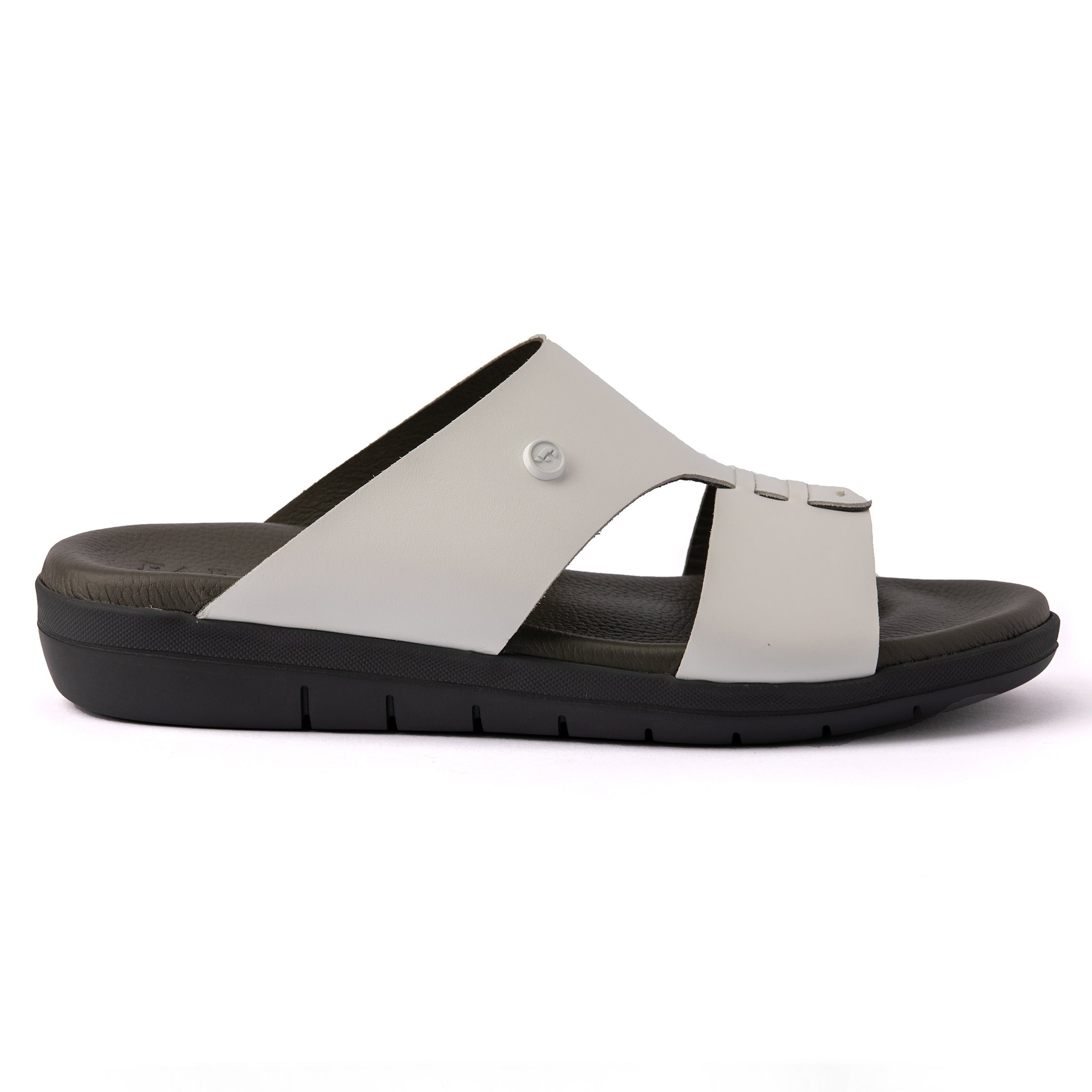 White Nappa Hovercraft (902) Arabic Sandals