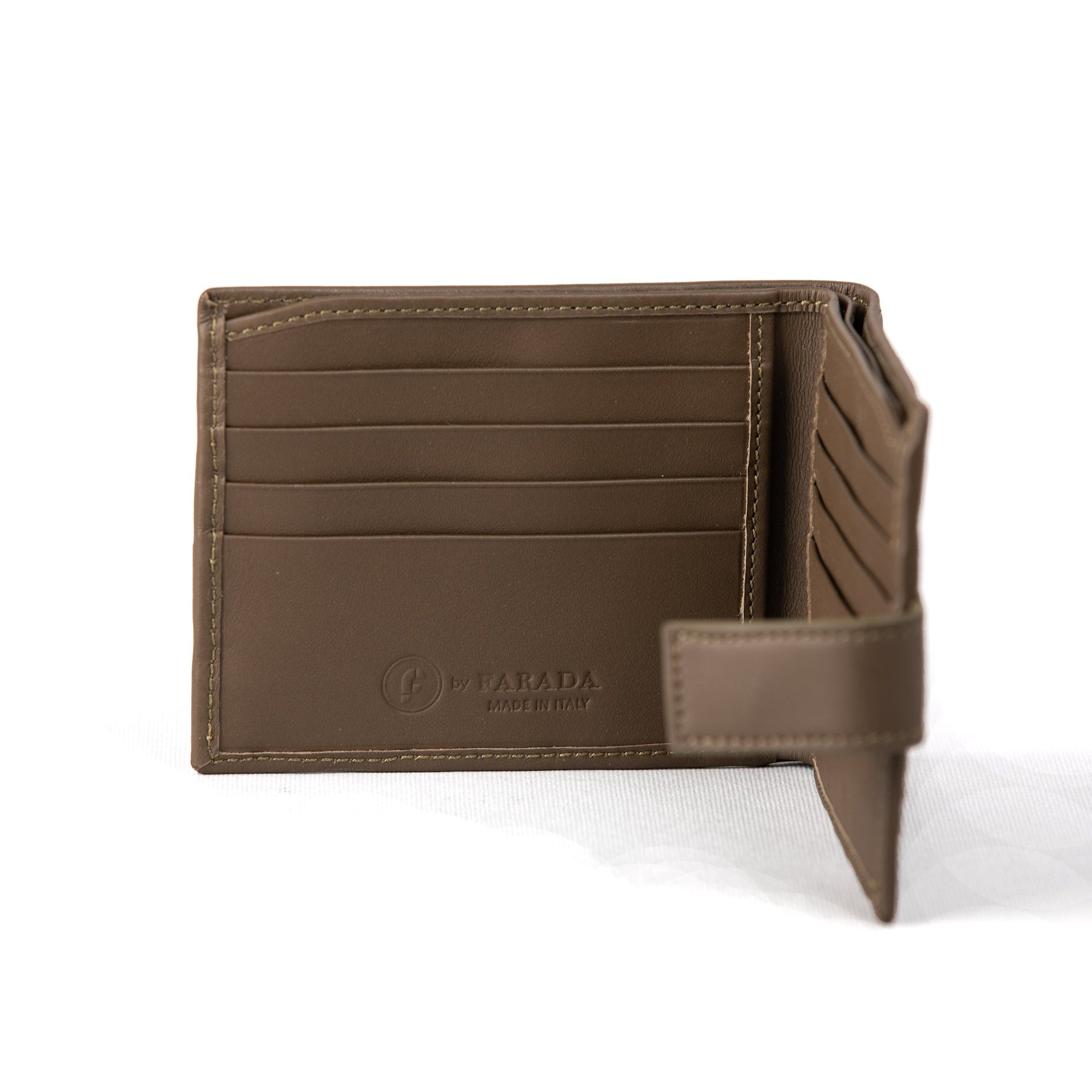 Truffle Weaving Matte Mens Wallet (FP104)