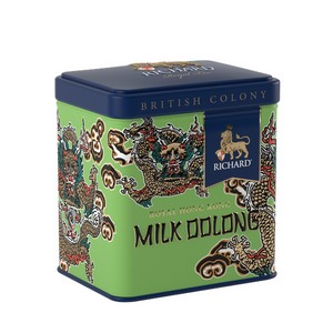 """British Colony Royal Milk Oolong Hong Kong Edition"" green leaf 50g, tin"