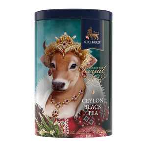Year Of The Royal Ox, loose leaf black tea 80g QUEEN