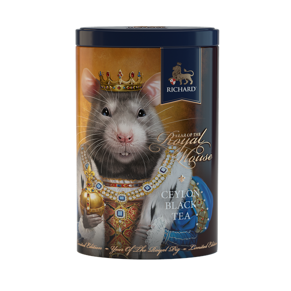 Year Of The Royal Mouse, loose leaf black tea 80g, tin, KING