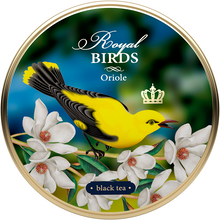 Load image into Gallery viewer, Royal Birds, loose leaf tea, tin 40 g, SET OF 4 TINS
