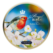 Load image into Gallery viewer, Royal Birds, loose leaf tea, tin 40 g, ROBIN REDBREAST