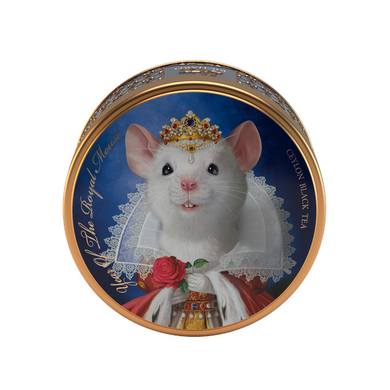 Year Of The Royal Mouse, loose leaf black tea 40g, tin, QUEEN