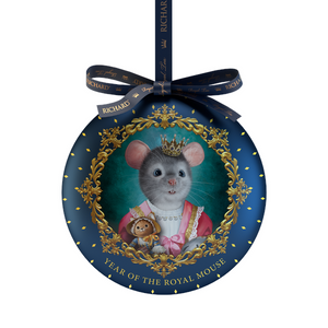 """Year of the royal mouse""  black leaf 20g, tin, BABY"