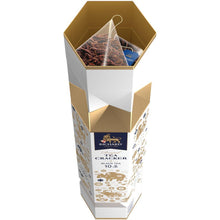 Load image into Gallery viewer, New Year Tea Cracker, loose leaf black tea, 10 pyramids, 17g WHITE