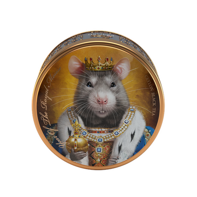 Year Of The Royal Mouse, loose leaf black tea 40g, tin, KING