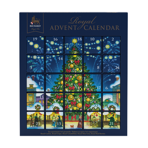 RICHARD Royal Advent Calendar, tea assortment 25 pyramids, 43g