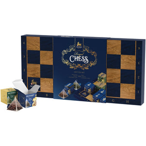 Royal Chess, tea assortment in pyramids, 54.4g