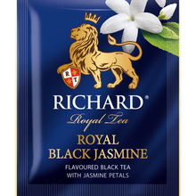 Load image into Gallery viewer, Royal Black Jasmine, flavoured black tea in sachets, 25х1,8g