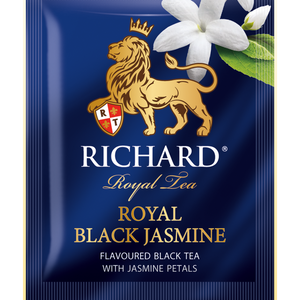 Royal Black Jasmine, flavoured black tea in sachets, 25х1,8g