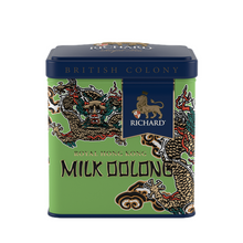 "Load image into Gallery viewer, ""British Colony Royal Milk Oolong Hong Kong Edition"" green leaf 50g, tin"