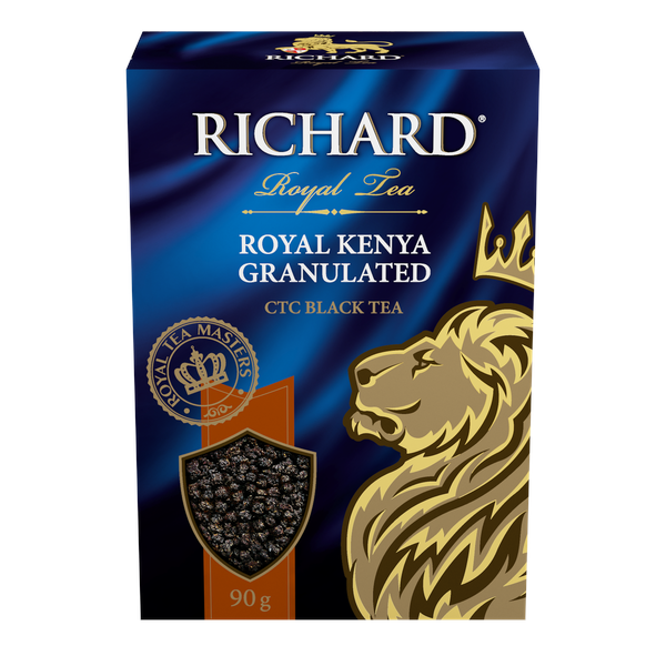 Royal Kenya Granulated, granulated black tea, 90g