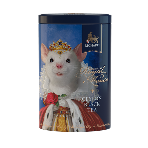 Year Of The Royal Mouse, loose leaf black tea 80g, tin, QUEEN
